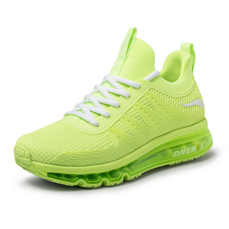 Lime Lightweight Sneakers ONEMIX Tuesday Women's Running Shoes