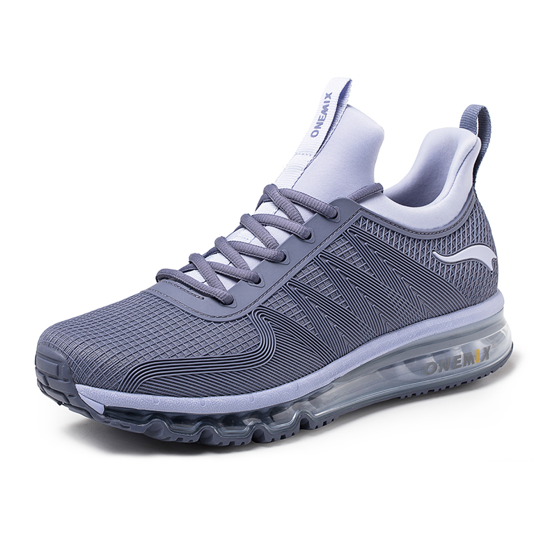 Gray Walking Sneakers Onemix Tuesday Unisex Air Cushion Shoes