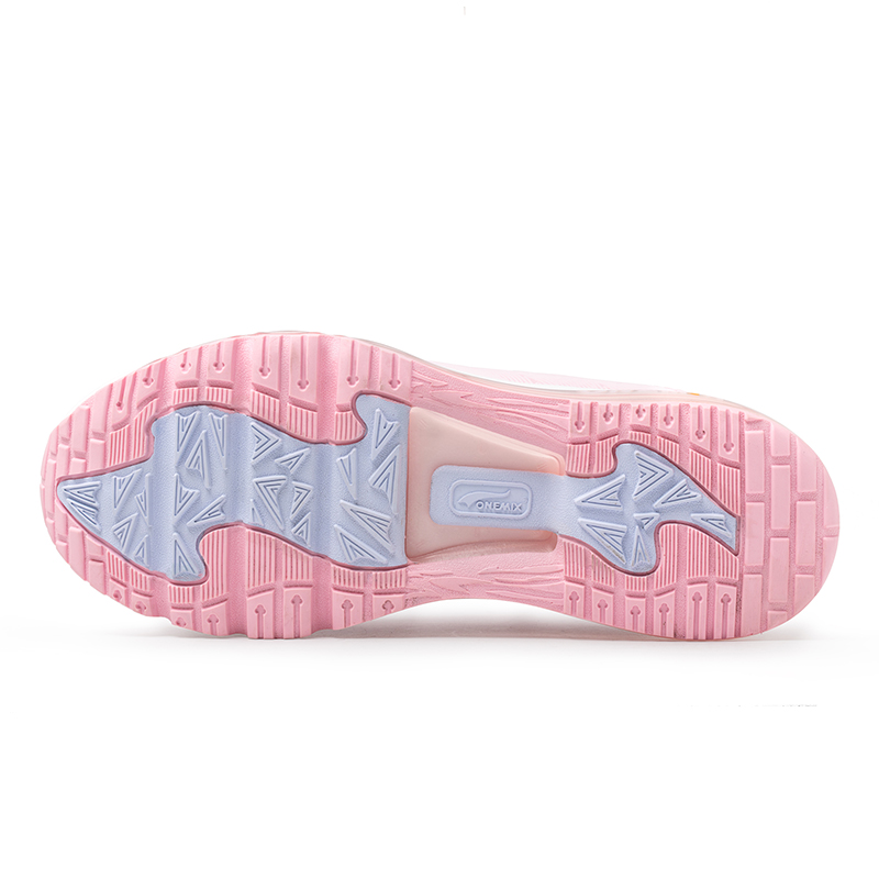 Pink Outdoor Sneakers ONEMIX Tuesday Women's Air Cushion Shoes