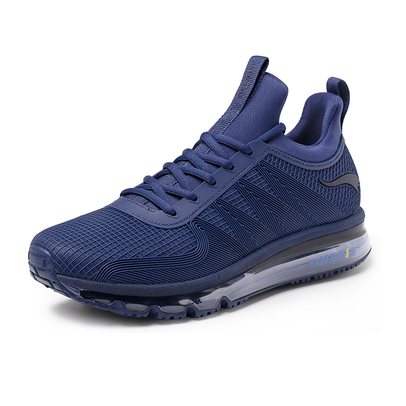 Denim Jogging Sneakers ONEMIX Tuesday Men's Running Shoes - Click Image to Close