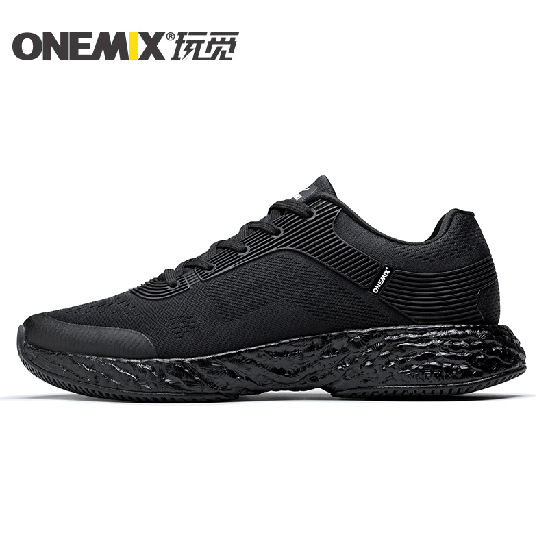 Black Energy Shoes ONEMIX Unisex Rebound-58 Outsole Sneakers