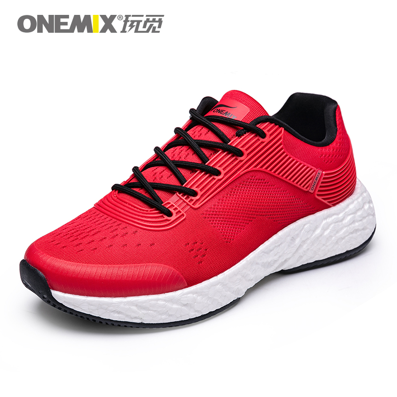 Red Energy Shoes ONEMIX Men's Rebound-58 Outsole Sneakers