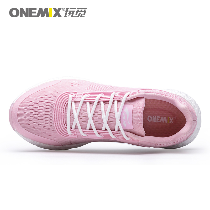 Pink Energy Shoes ONEMIX Women's Rebound-58 Outsole Sneakers