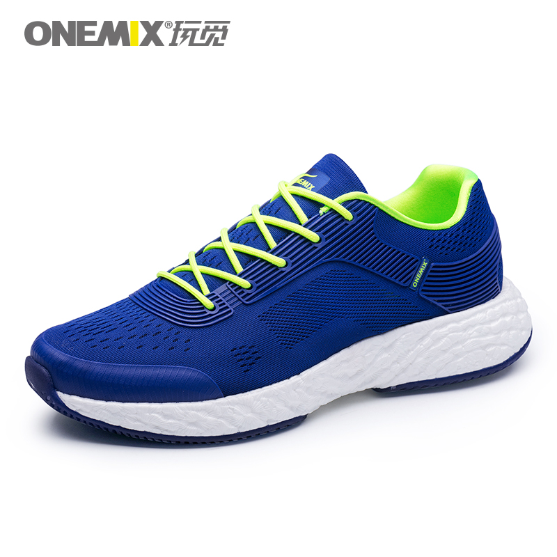 Blue Energy Shoes ONEMIX Men's Rebound-58 Outsole Sneakers