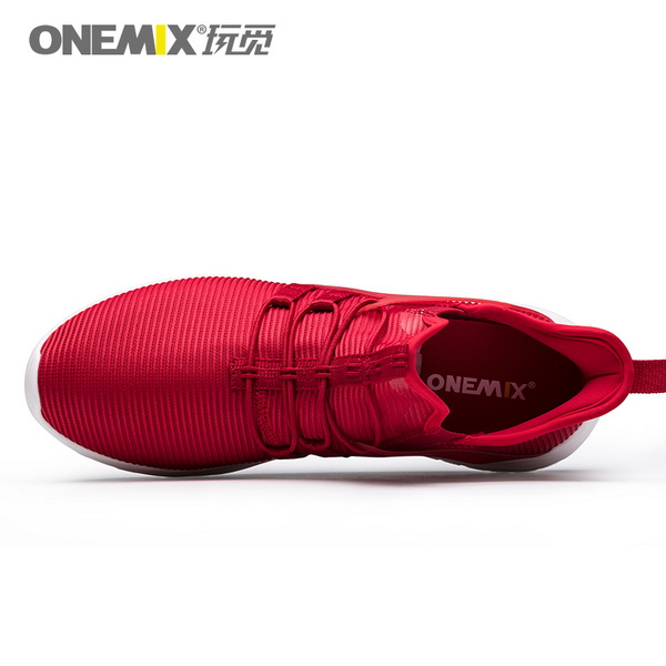 Red Super Light Sneakers ONEMIX Lovers Jogging Shoes