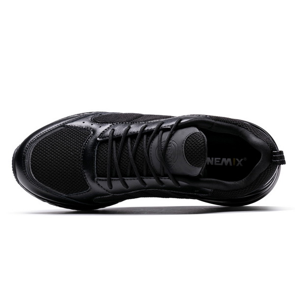 Pure Black Winter Sneakers ONEMIX Sport Unisex 270 Shoes - Click Image to Close
