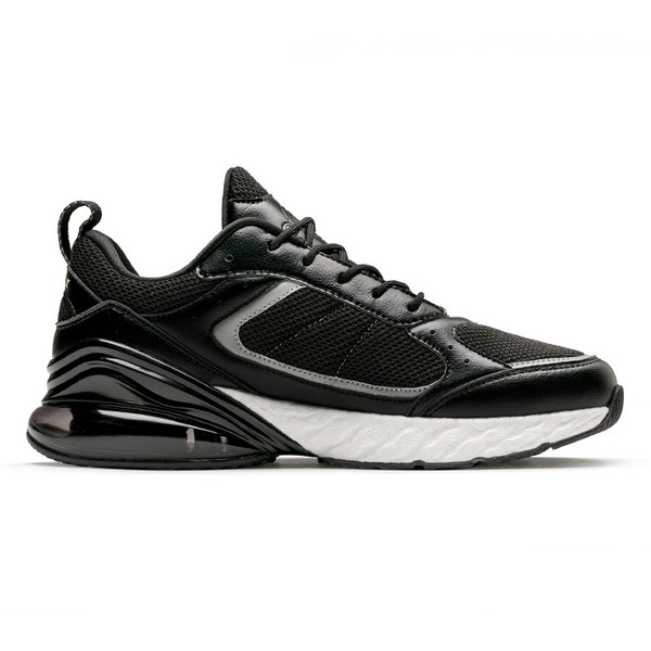 Black/White Jogging Sneakers ONEMIX Sport Men's 270 Shoes - Click Image to Close
