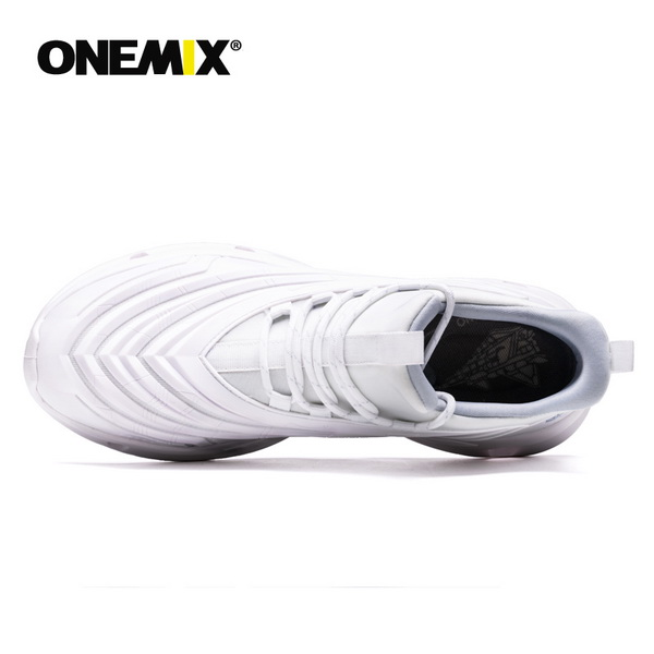 Full White Fighter Shoes ONEMIX Lovers Outdoor Sneakers