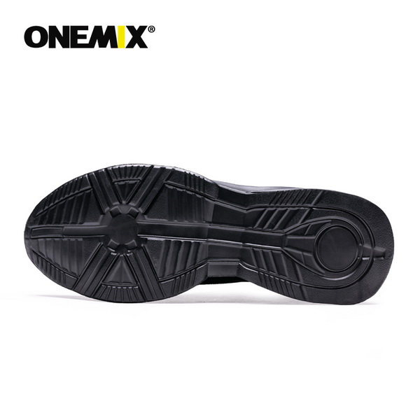 All Black Fighter Shoes ONEMIX Unisex High-tech Sneakers