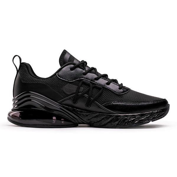 Full Black Hiking Shoes ONEMIX Unisex Outdoor Sneakers