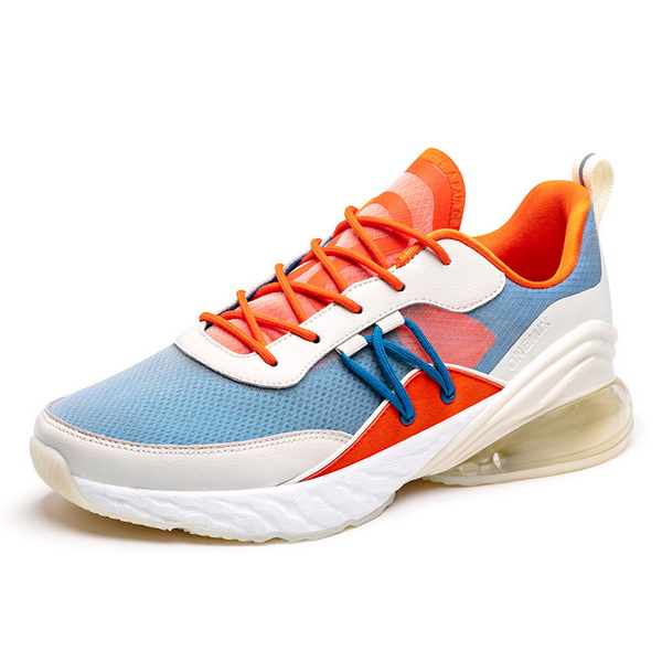Orange/White Jogging Shoes ONEMIX Lovers Outdoor Sneakers