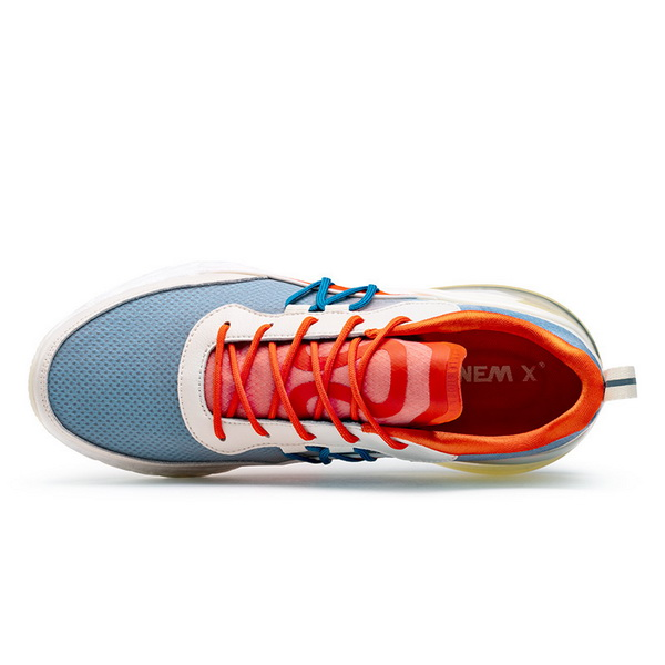 Orange/White Jogging Shoes ONEMIX Lovers Outdoor Sneakers - Click Image to Close