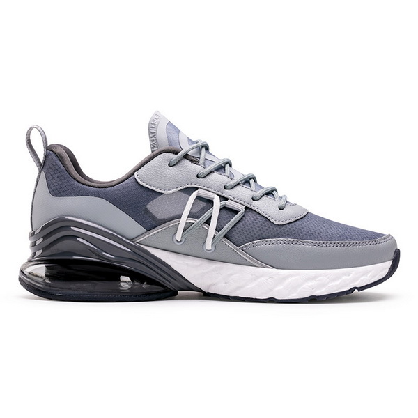 Blue/Gray Athletic Shoes ONEMIX Men's Outdoor Sneakers - Click Image to Close