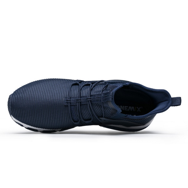 Dark Blue January Sneakers ONEMIX Men's Mesh Shoes - Click Image to Close
