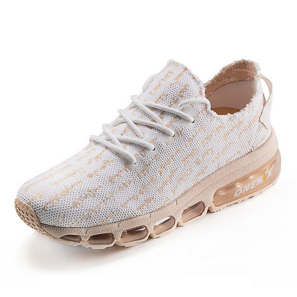 Rose Gold Lightweight Shoes ONEMIX Women's Retro Sneakers