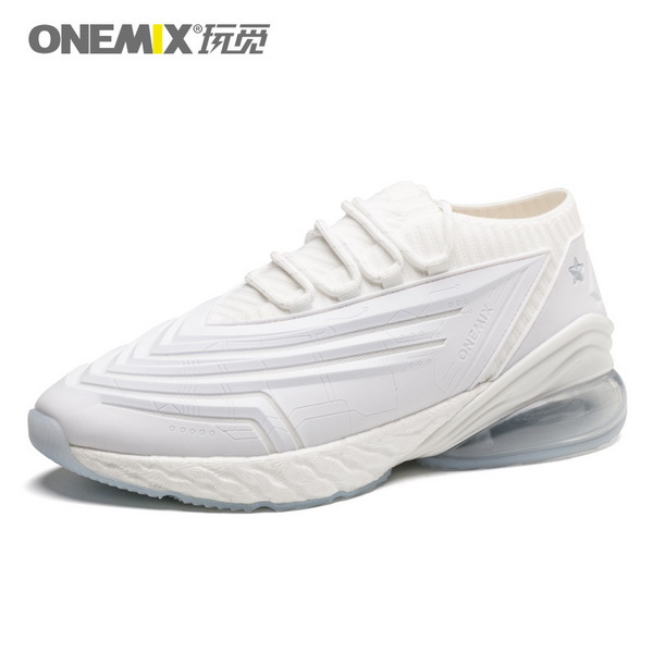 Full White Saturday Women's Sneakers ONEMIX Men's Fighter Shoes