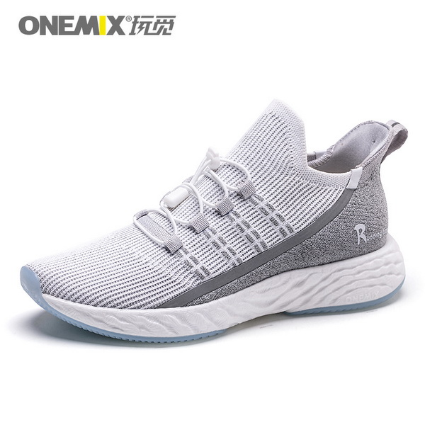 Light Gray Sunday Men's Shoes ONEMIX Sport Women's Sneakers