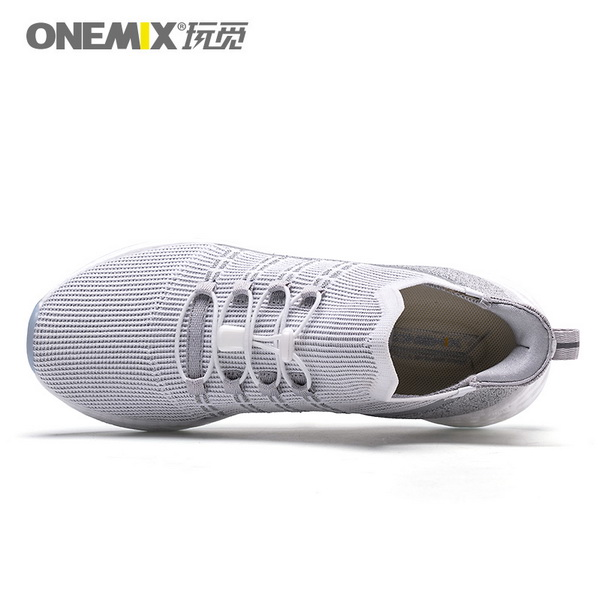 Light Gray Sunday Men's Shoes ONEMIX Sport Women's Sneakers - Click Image to Close