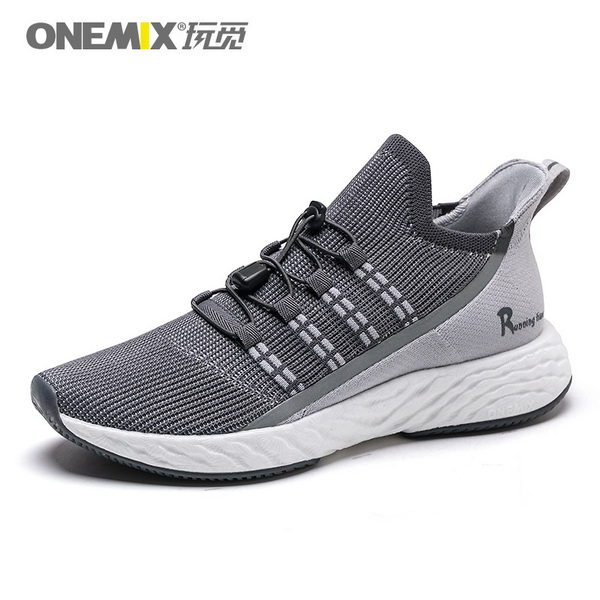 Dark Gray Sunday Sneakers ONEMIX Jogging Men's Shoes