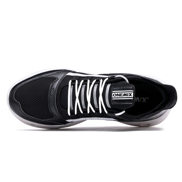 Black White Vintage Women's Sneakers ONEMIX Men's Running Shoes