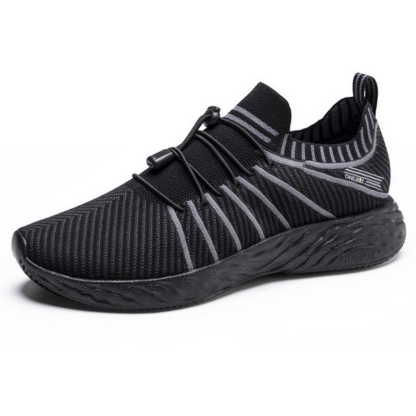 All Black Summer Men's Sneakers ONEMIX Women's 350 Shoes