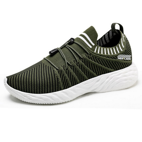 Green/White Summer Air Sole Shoes ONEMIX Men's 350 Sneakers