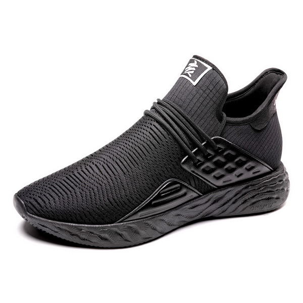 Full Black Autumn Men's Shoes ONEMIX Women's 360 Sneakers
