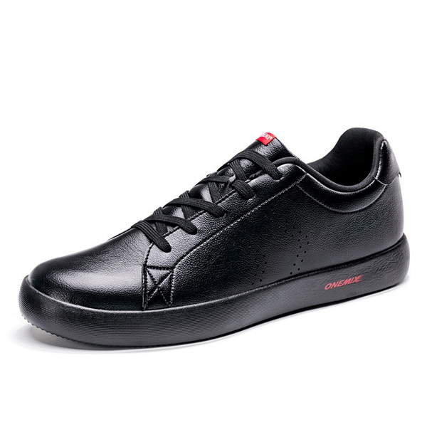 Full Black Casual Men's Shoes ONEMIX Women's College Style Sneakers