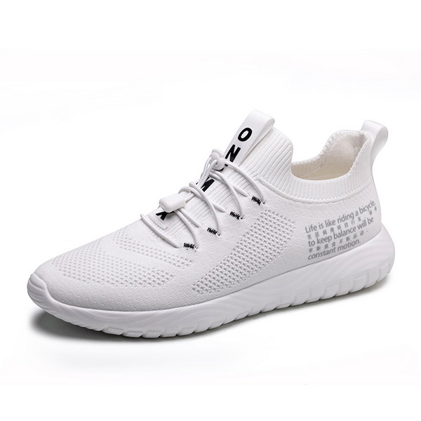 White Simple Women's Shoes ONEMIX Outdoor Men's Sneakers