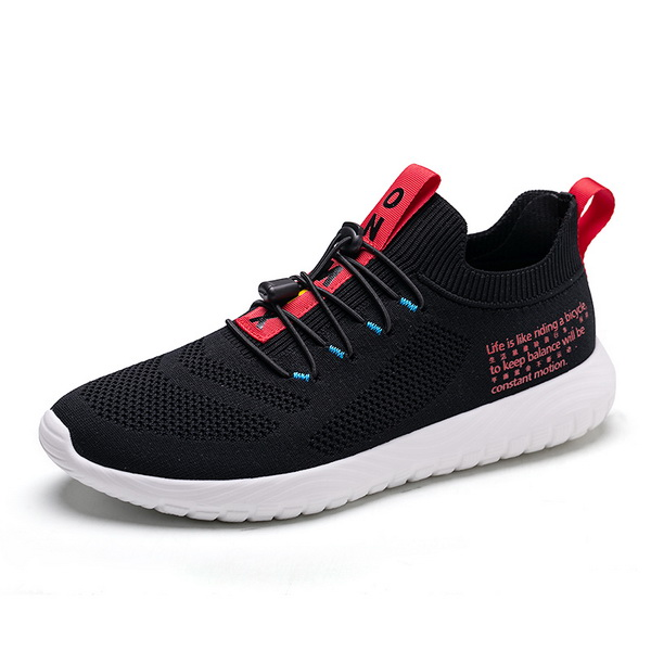 Black/Red Simple Women's Shoes ONEMIX Vulcanized Men's Sneakers