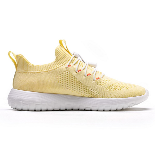 Yellow Simple Sport Sneakers ONEMIX Women's Breathable Shoes