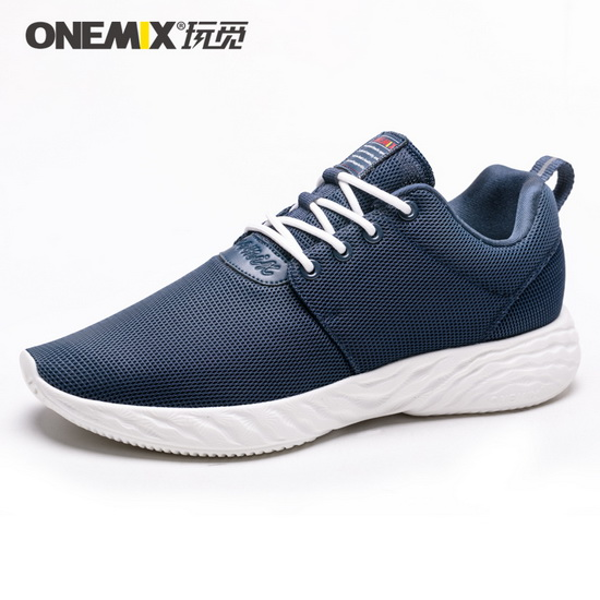 Blue Venus Men's Shoes ONEMIX Jogging Breathable Sneakers