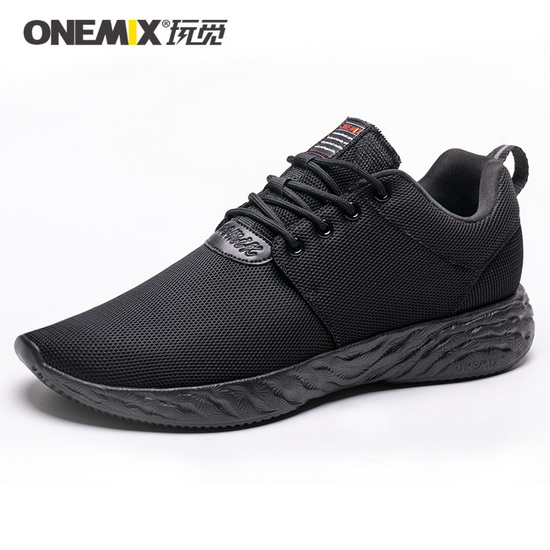 Black Venus Women's Sneakers ONEMIX Lovers Men's Shoes