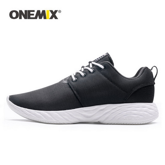Black/White Venus Men's Shoes ONEMIX Women's Sport Sneakers