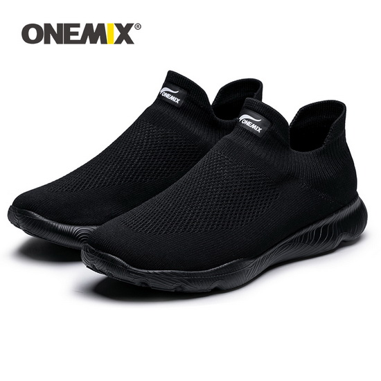 Black Mars Sneakers ONEMIX Men's Comfortable Shoes