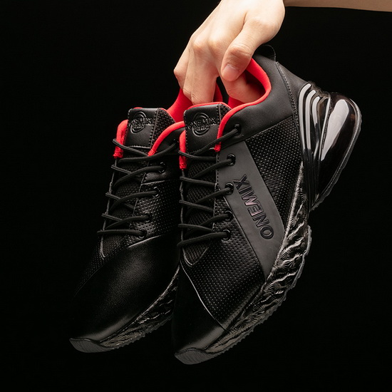Black/Red Men's Sneakers ONEMIX Jupiter Women's Running Shoes