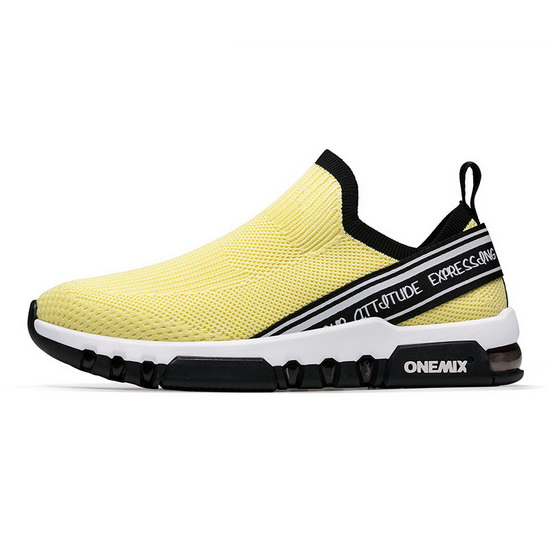 Yellow February Sneakers ONEMIX Running Men's 280 Shoes