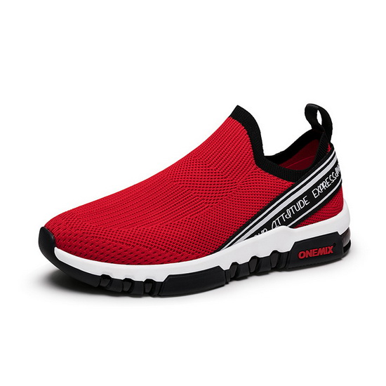 Red February Shoes ONEMIX Breathable Men's 280 Sneakers