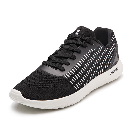 Black Saturn Comfortable Shoes ONEMIX 200 Men's Sneakers