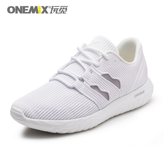 White April Walking Sneakers ONEMIX Mesh Vamp Men's Shoes