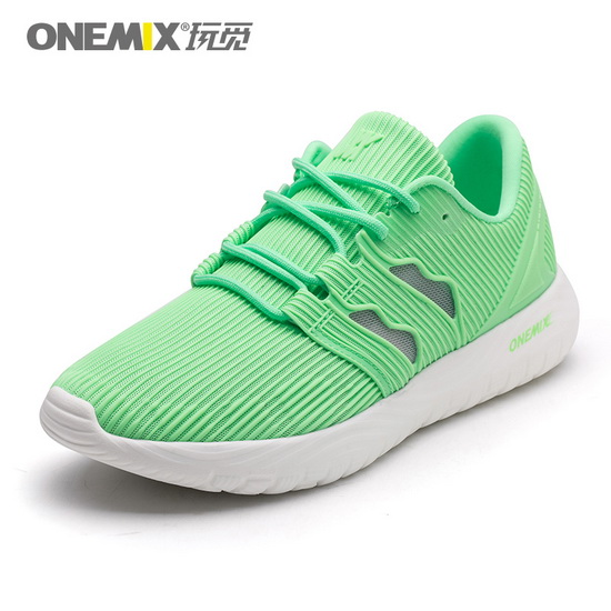 Green April Sneakers ONEMIX Mesh Vamp Women's Fresh Shoes