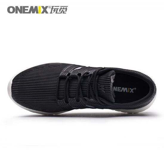 Black April Men's Shoes ONEMIX Women's Mesh Vamp Sneakers