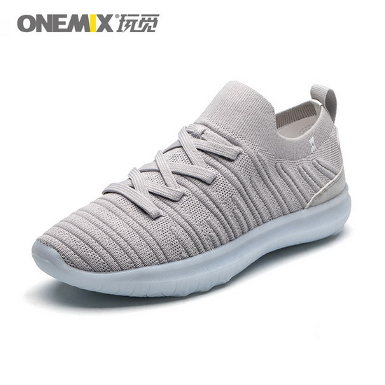 Gray June Anti-skid Shoes ONEMIX Men's Sneakers