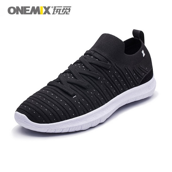 Black June Sneakers ONEMIX Lightweight Men's Shoes