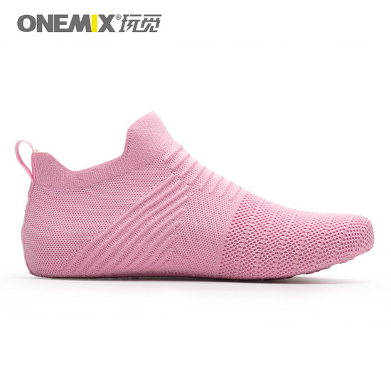 Pink Working ONEMIX Light Cool Women's Inner Socks-slipper - Click Image to Close