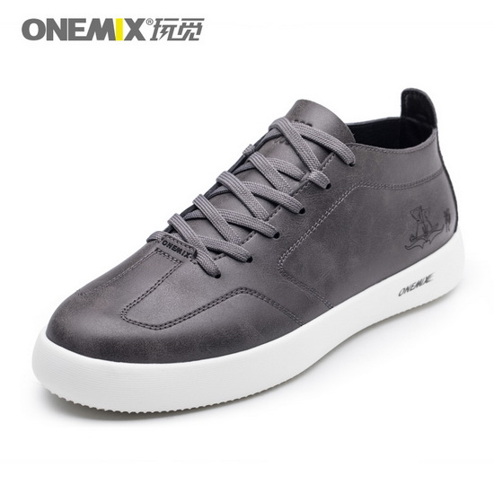 Gray Aquila Shoes ONEMIX Athletic Men's Skate Sneakers