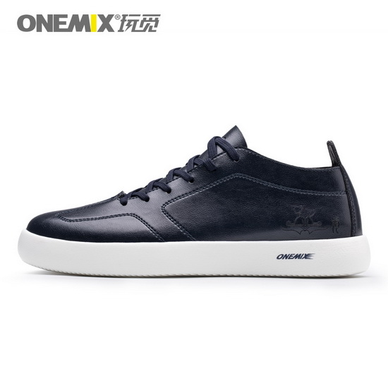 Dark Blue Aquila Sneakers ONEMIX Men's Skate Shoes