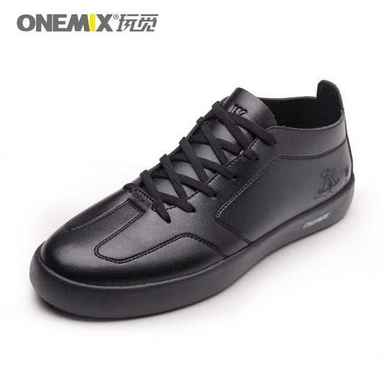 Black Aquila Shoes ONEMIX Sport Men's Skate Sneakers