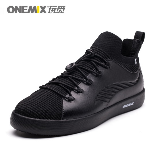 Black Cetus Men's Shoes ONEMIX Women's Skateboarding Sneakers
