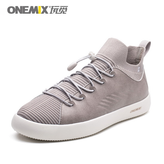 Gray Cetus Sneakers ONEMIX Student Men's Skateboarding Shoes